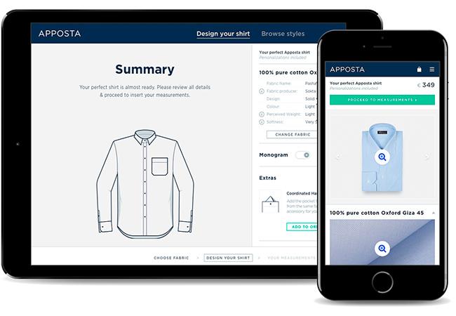 Cómo diseñar una camisa a medida online