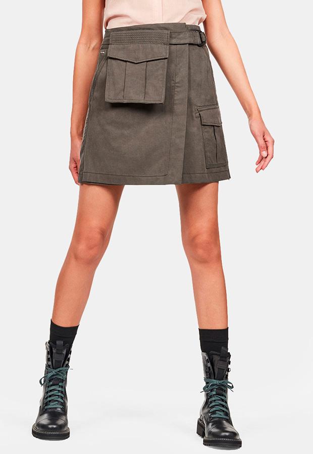 Falda cargo con bolsillos de G-Star Raw