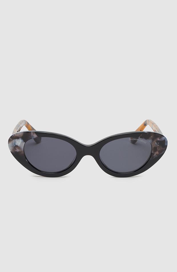 gafas cay eye de acetato negras gloria ortiz