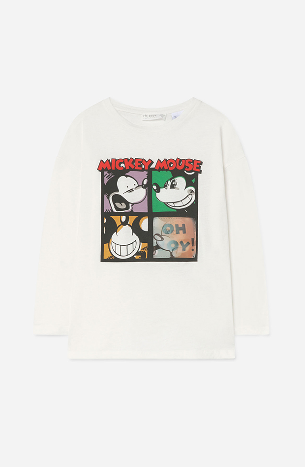 Lefties Kids Otoño - Invierno 2019 / 2020 Camiseta Mickey Mouse