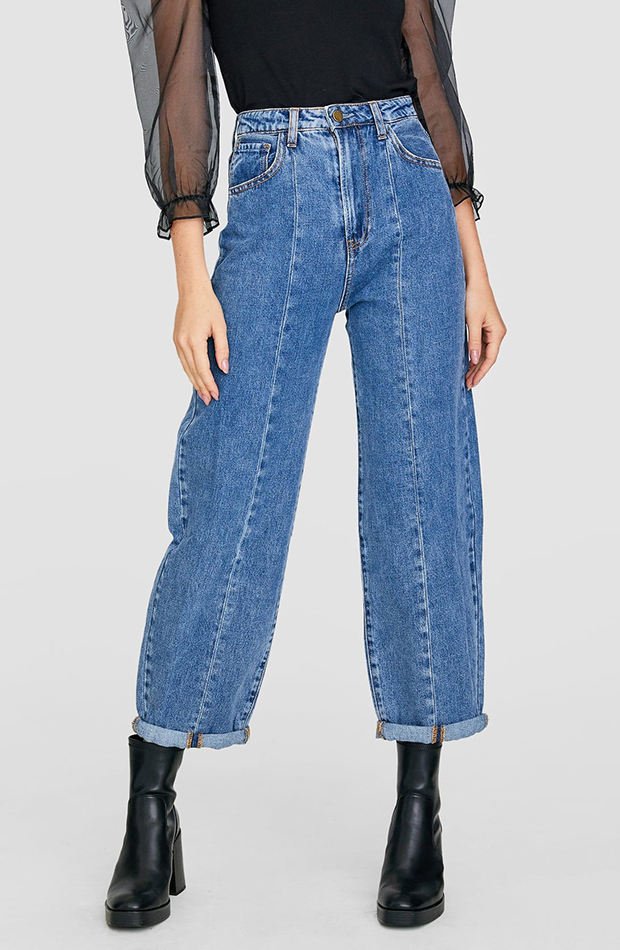 Jeans carrot de la coleccion de otoño 2019 de Stradivarius