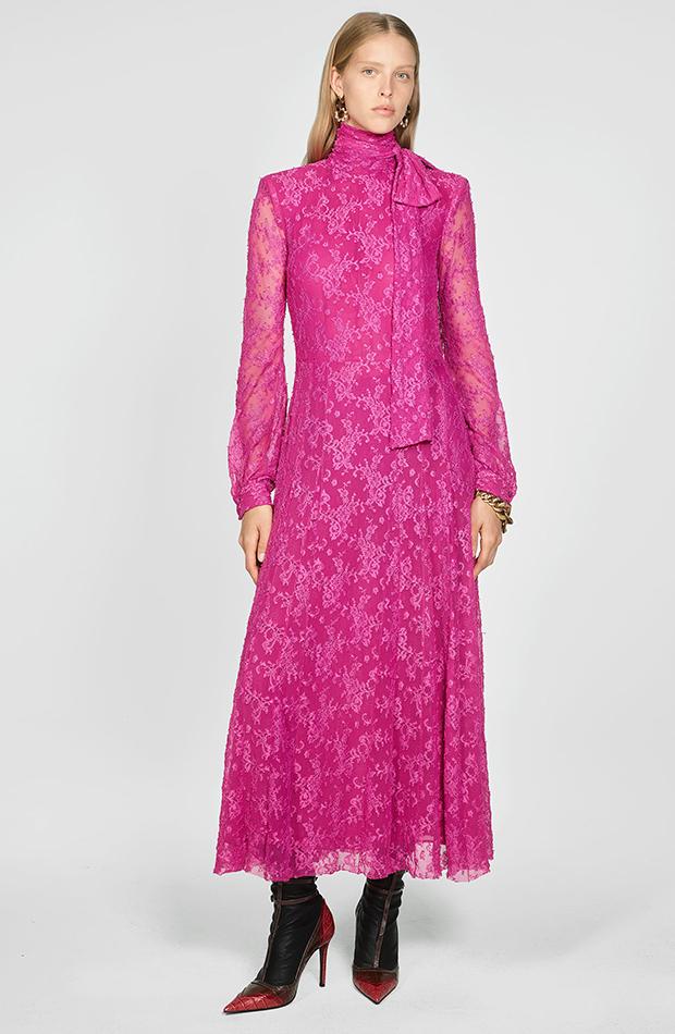 Zara Campaign Collection vestido rosa