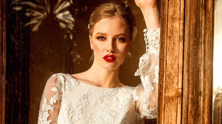 Vestidos de novia de invierno de María Salas