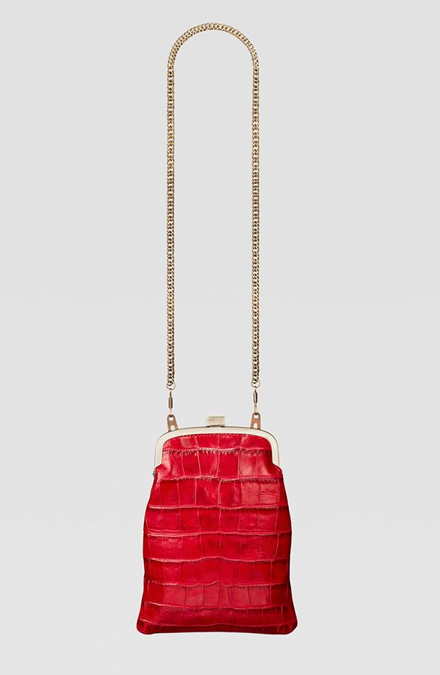 Zara Campaign Collection bolso rojo