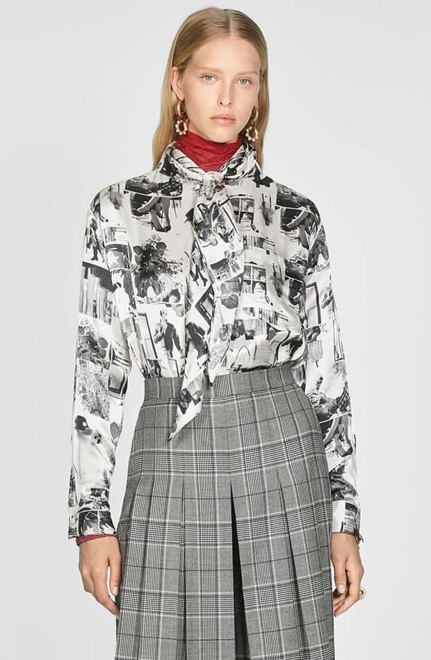 Zara Campaign Collection camisa fotográfica