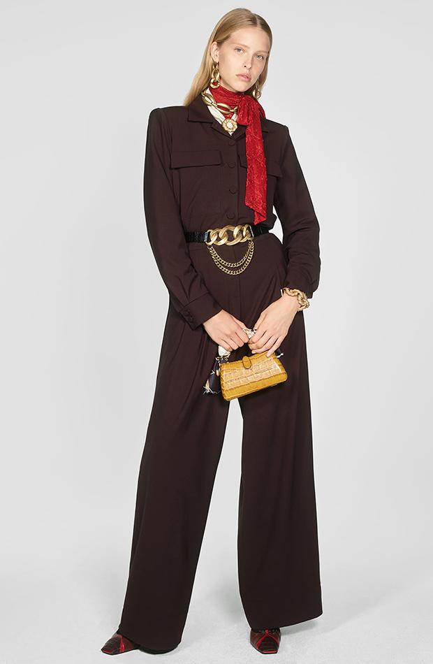Zara Campaign Collection mono marron