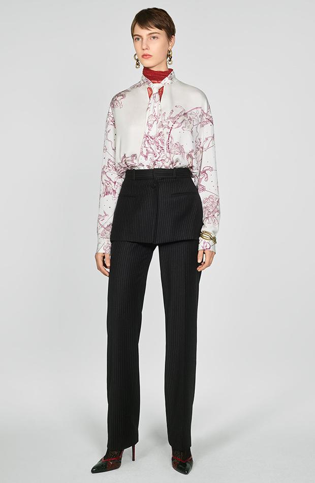 Zara Campaign Collection pantalones falda