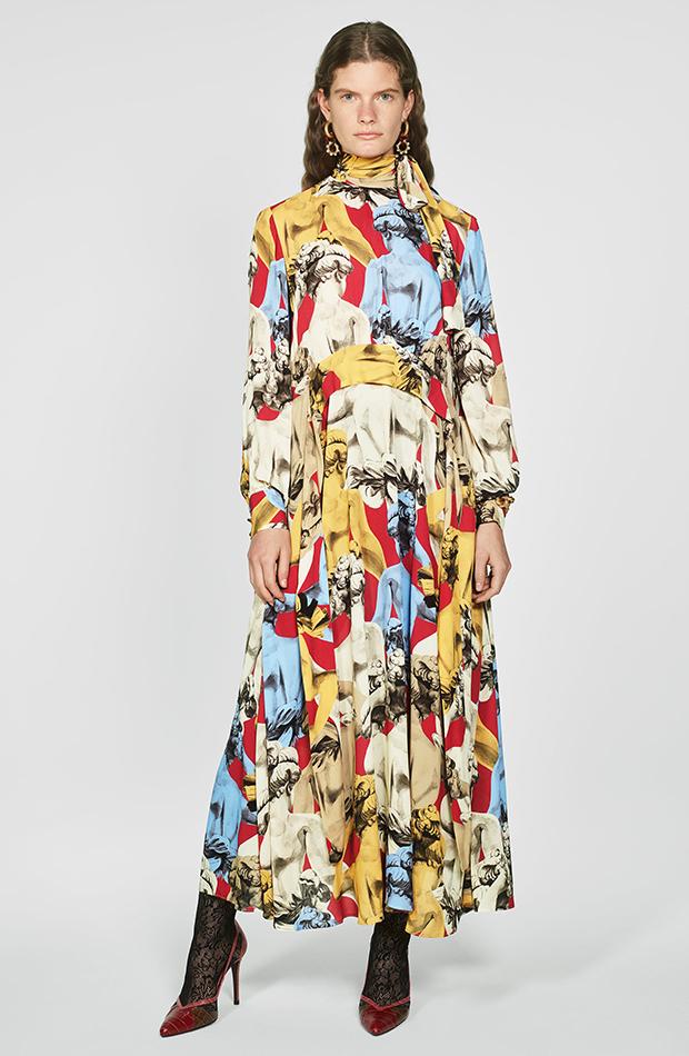 Zara Campaign Collection vestido esculturas