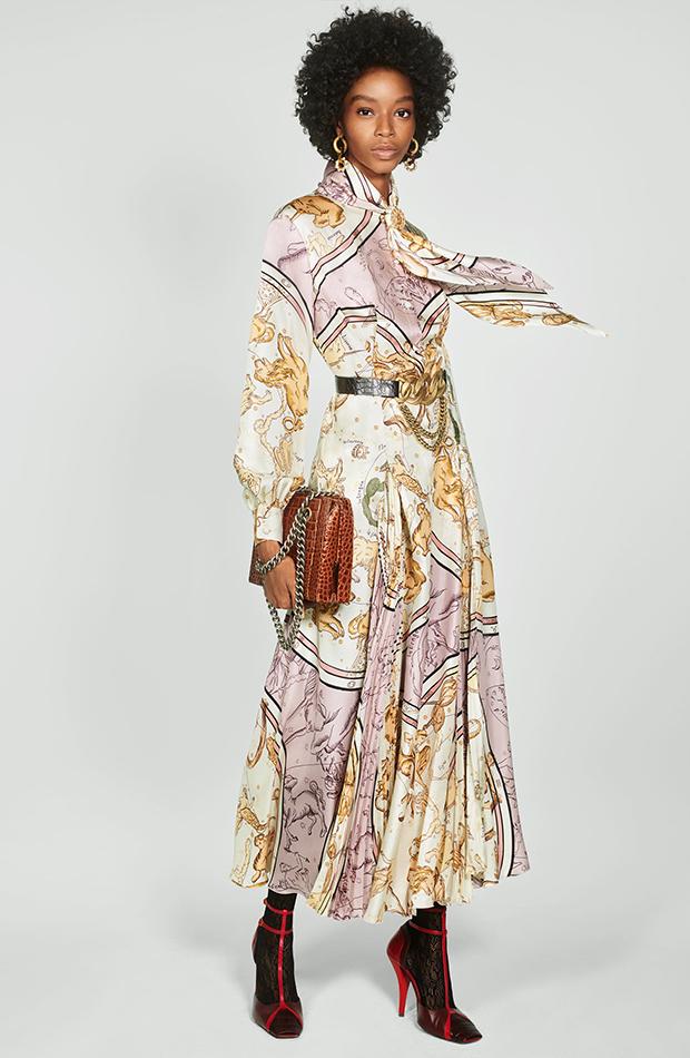 Zara Campaign Collection vestido tablas