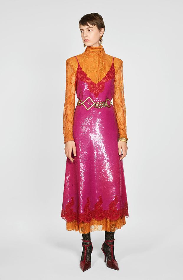 Zara Campaign Collection vestido lentejuelas