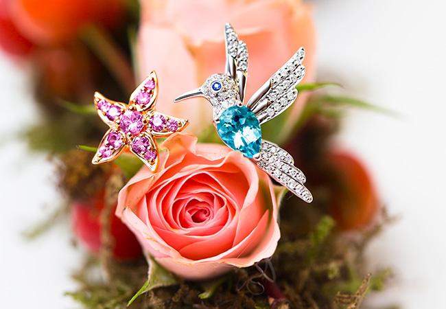 Colibrí de los nuevos Amuletos de Frida de Joyería Suarez