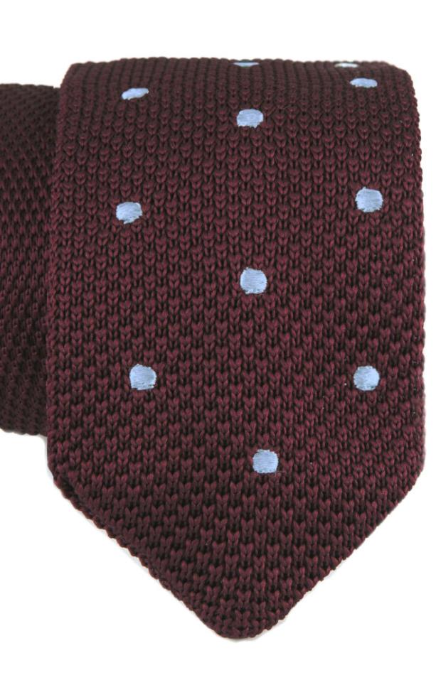 Cloking corbata de punto