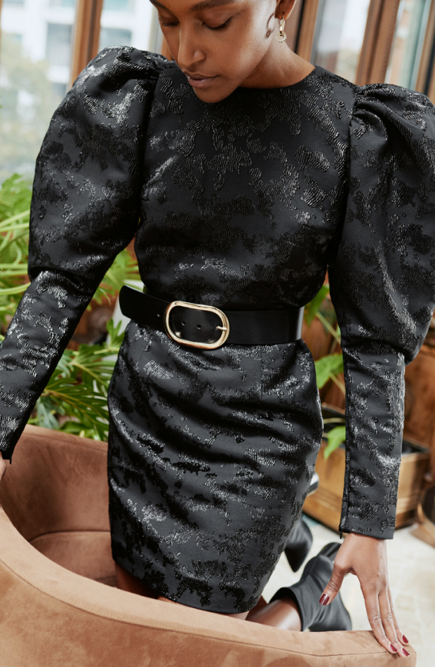 & Other stories colección Upscale Casual vestido jacquard