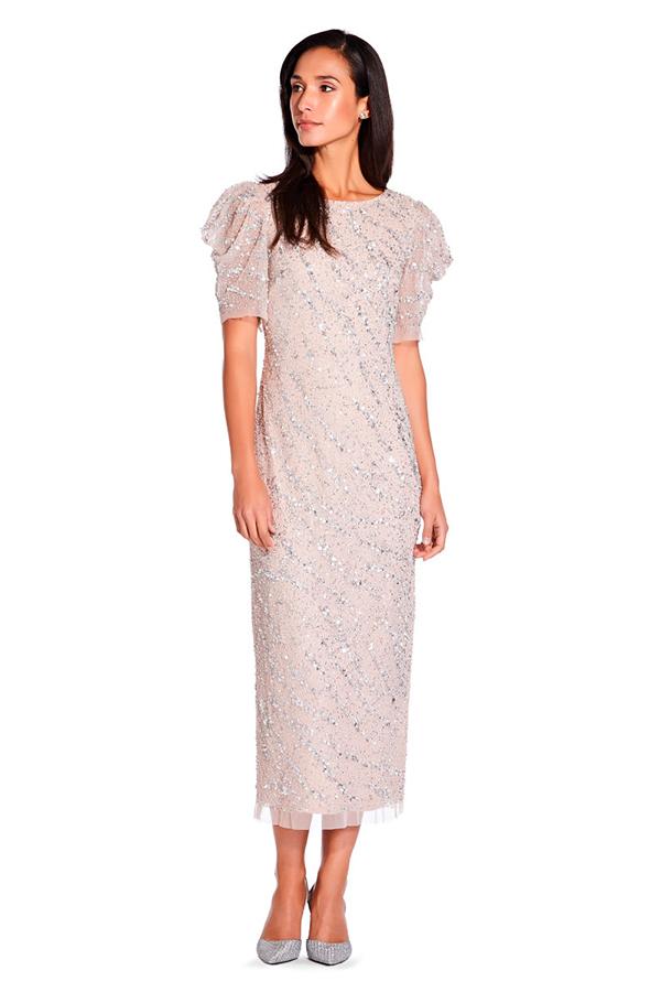Vestido de fiesta de Adriana Papell