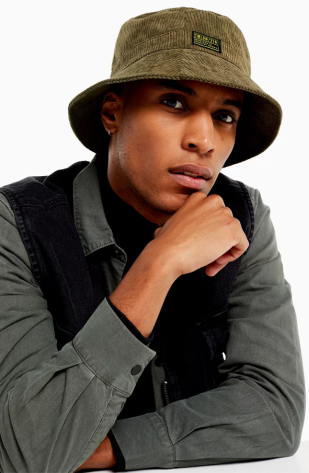 Armario masculino alternativo bucket hat topman