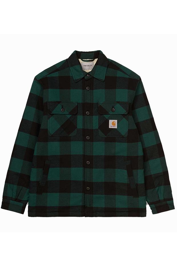 Armario masculino alternativo camisa franela carhartt