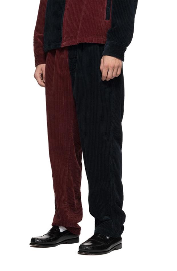 Armario masculino alternativo pantalones de pana Stussy