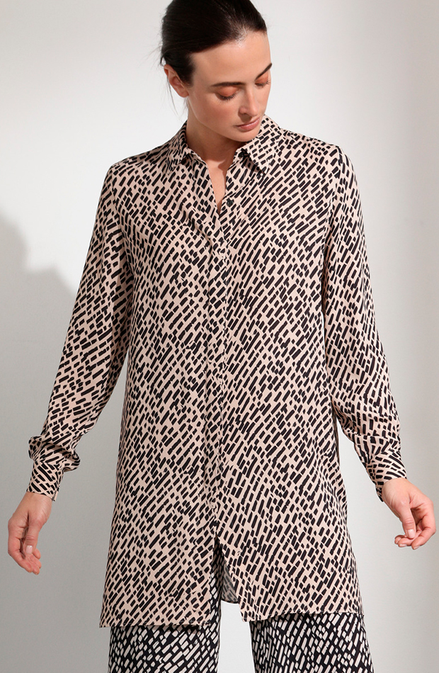 blusa estampada woman prendas oversize