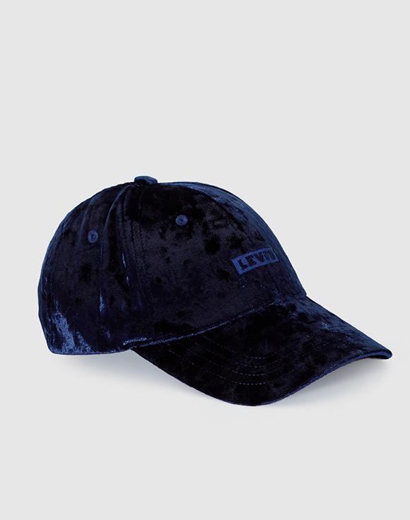 gorra azul marino levis prendas de terciopelo