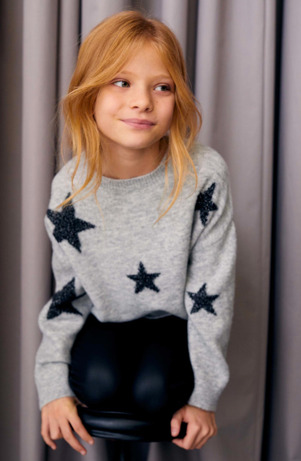 mango kids jersey con estrellas