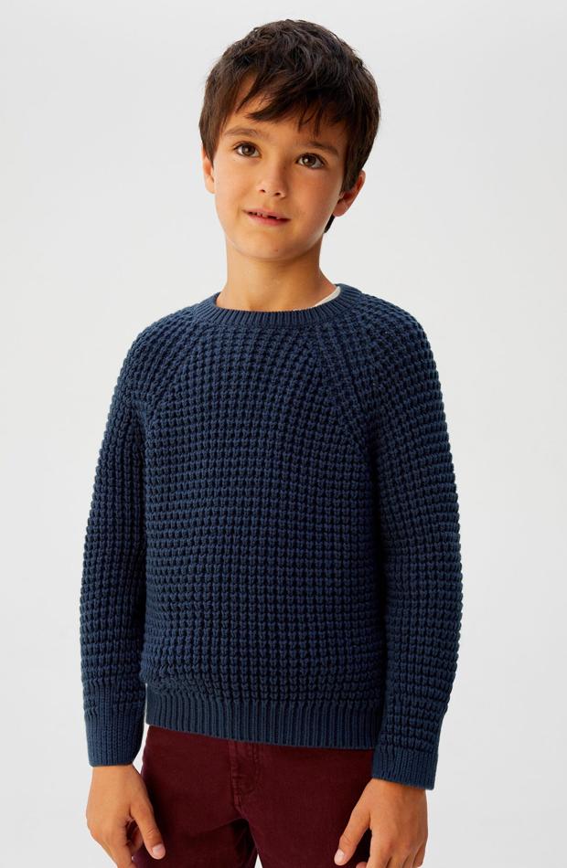 mango kids jersey de punto nino