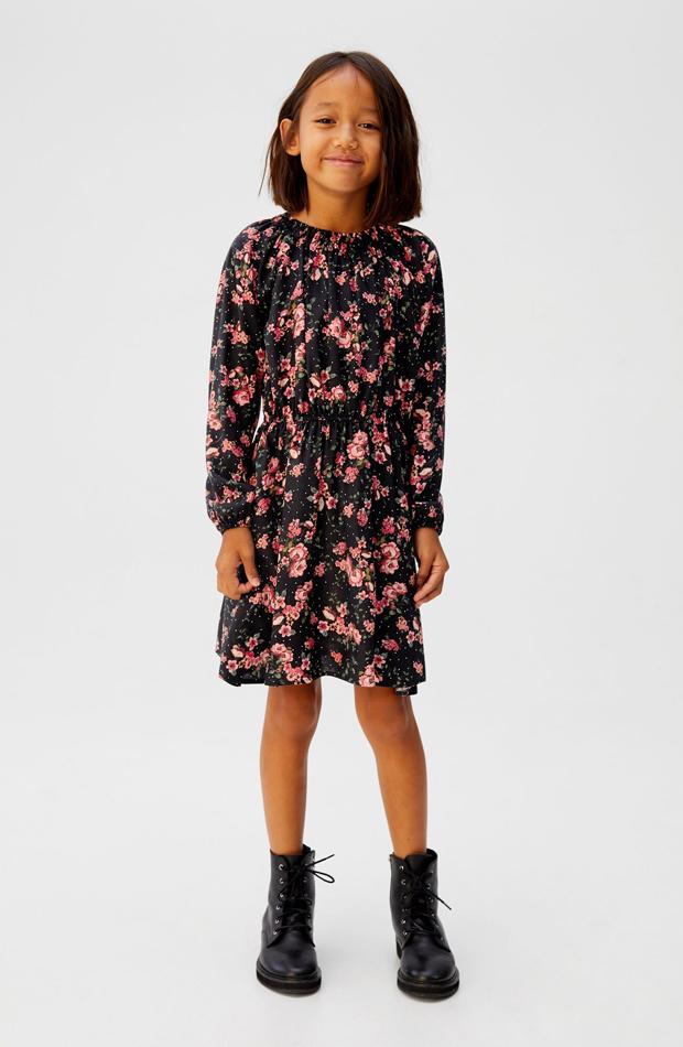 vestido de nina flores