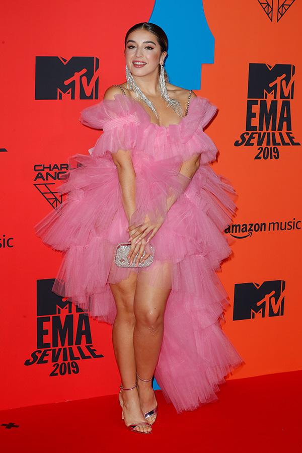 Lola Índigo en los MTV EMAs 2019