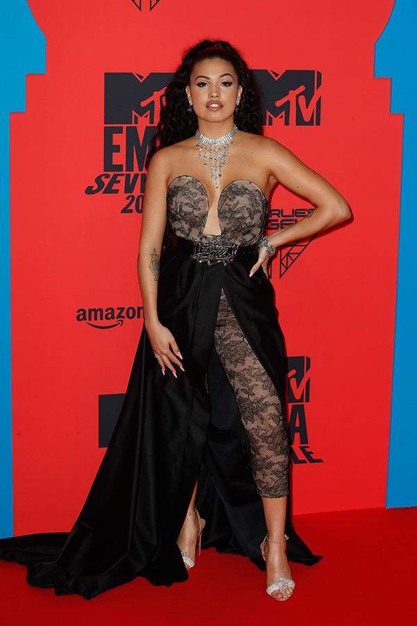 Mabel en los MTV EMAs 2019