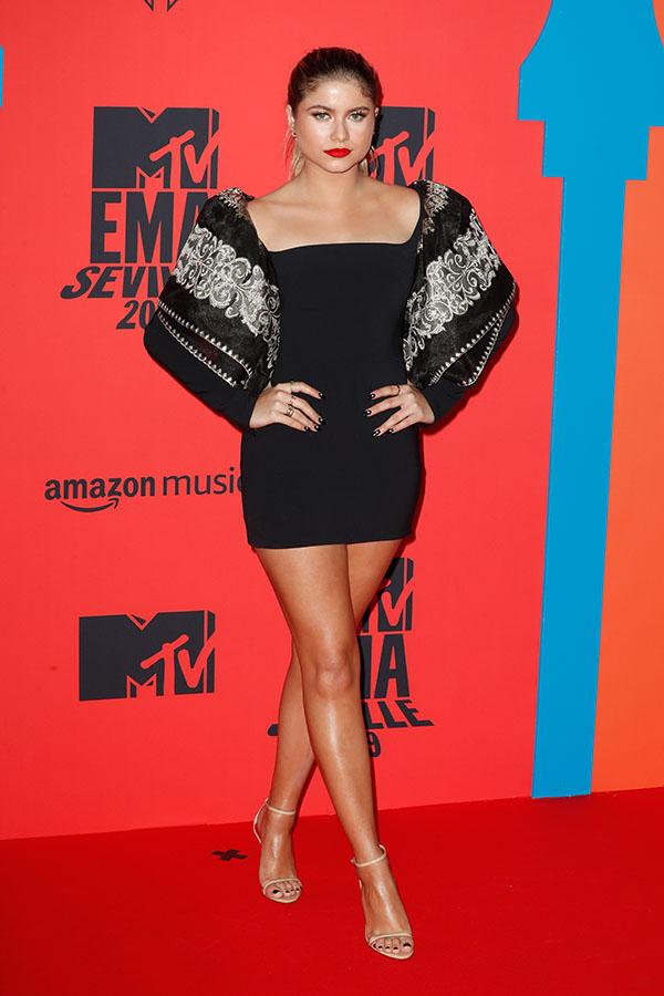 Sofia Reyes en los MTV EMAs 2019