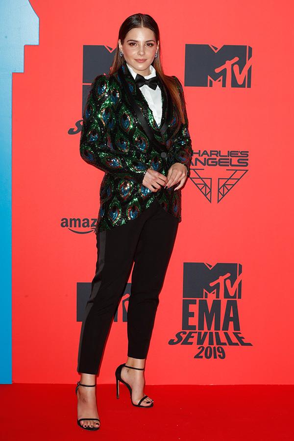 Andrea Duro en los MTV EMAs 2019