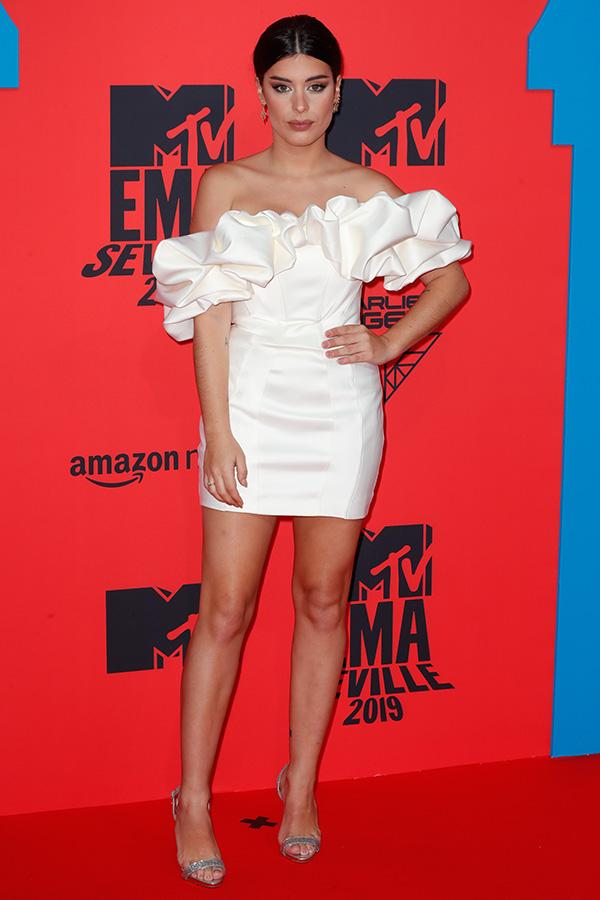 Aida Domenech en los MTV EMAs 2019