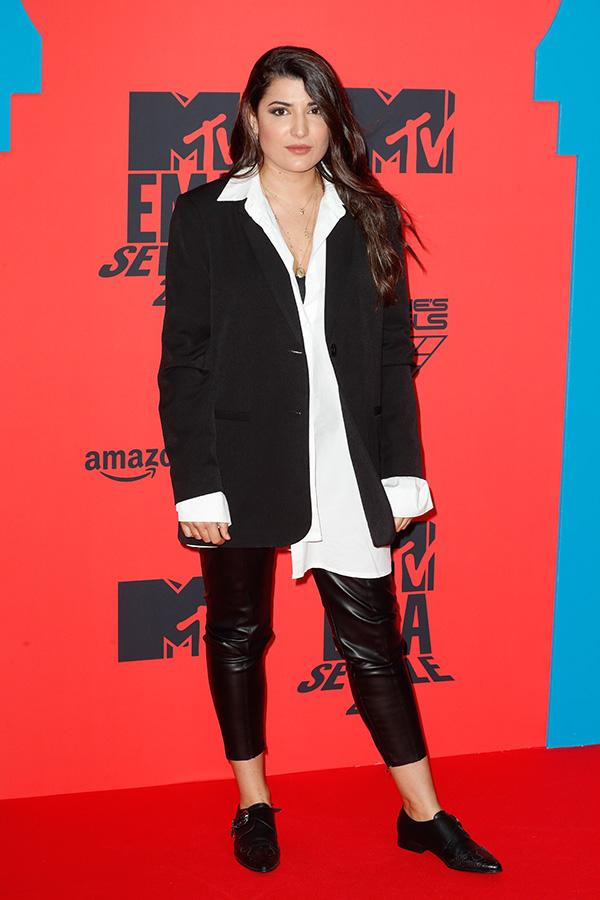 Alba Paul en los MTV EMAs 2019