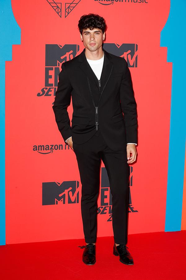 Daniel Illescas en los MTV EMAs 2019