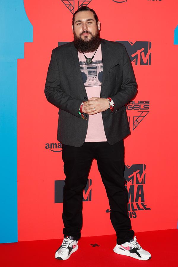 Alfredo Danger Martínez en los MTV EMAs 2019
