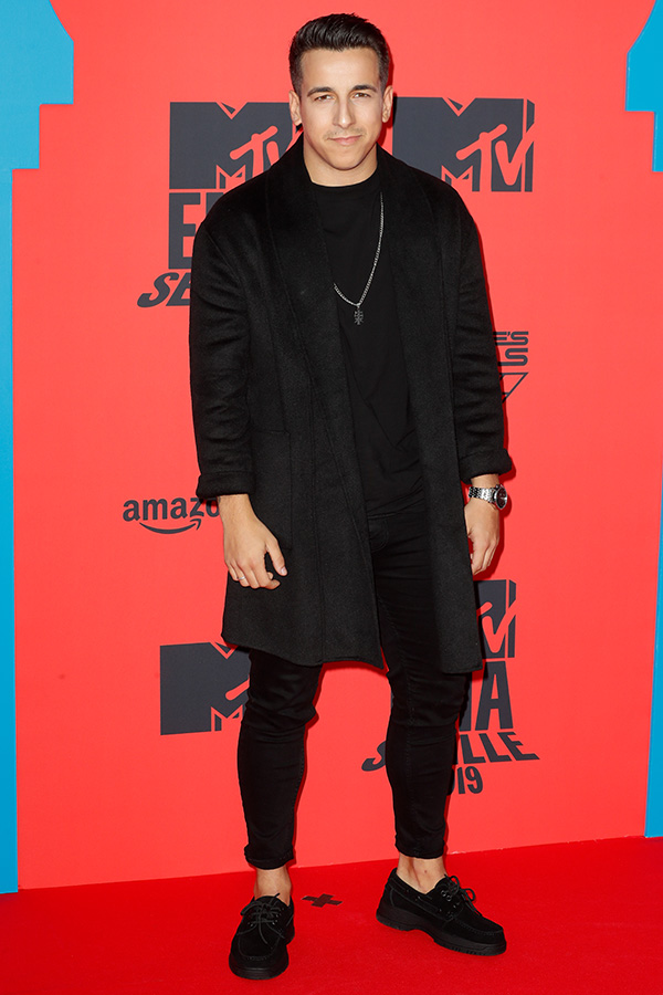 Fernando Daniel en los MTV EMAs 2019