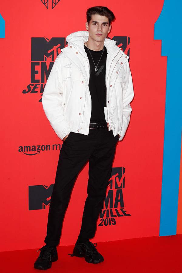 Alvaro Mel en los MTV EMAs 2019