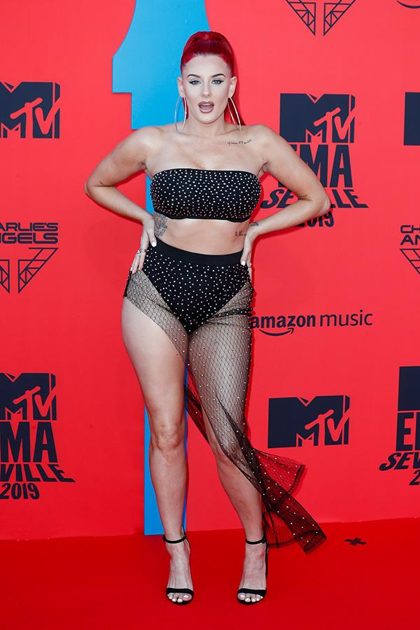 Justina Valentine en los MTV EMAs 2019
