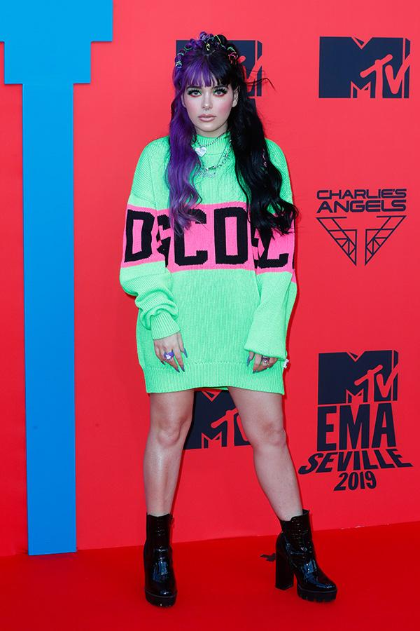 Rosalba Andolfi en los MTV EMAs 2019