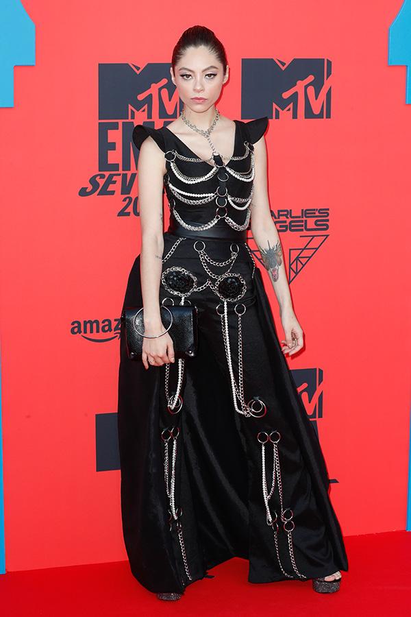 Dhasia Wezka en los MTV EMAs 2019