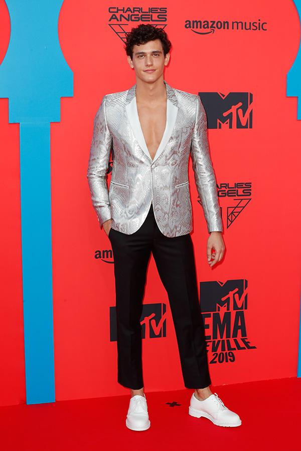 Xavier Serrano en los MTV EMAs 2019