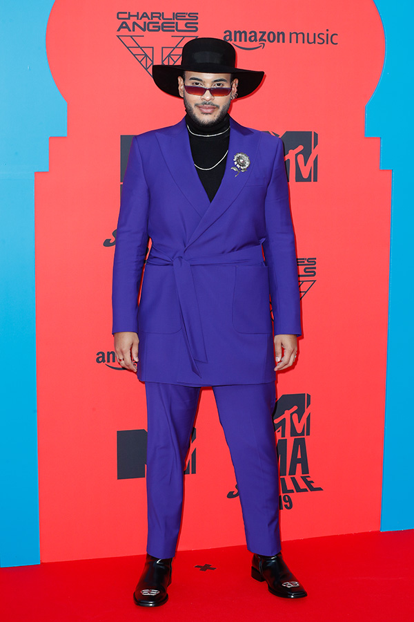 Hugo Gloss en los MTV EMAs 2019