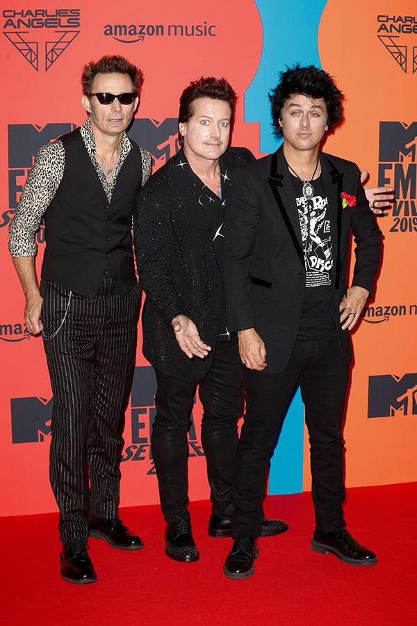 Green Day en los MTV EMAs 2019