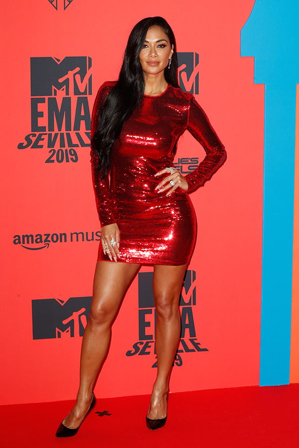 Nicole Scherzinger en los MTV EMAs 2019