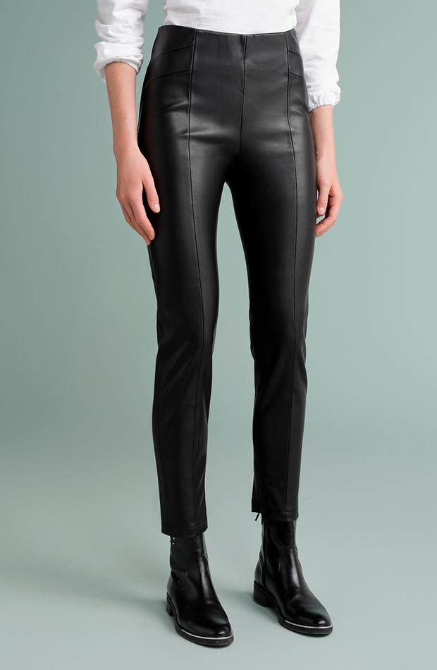 pantalón negro efecto legging tintoretto looks para cena de empresa