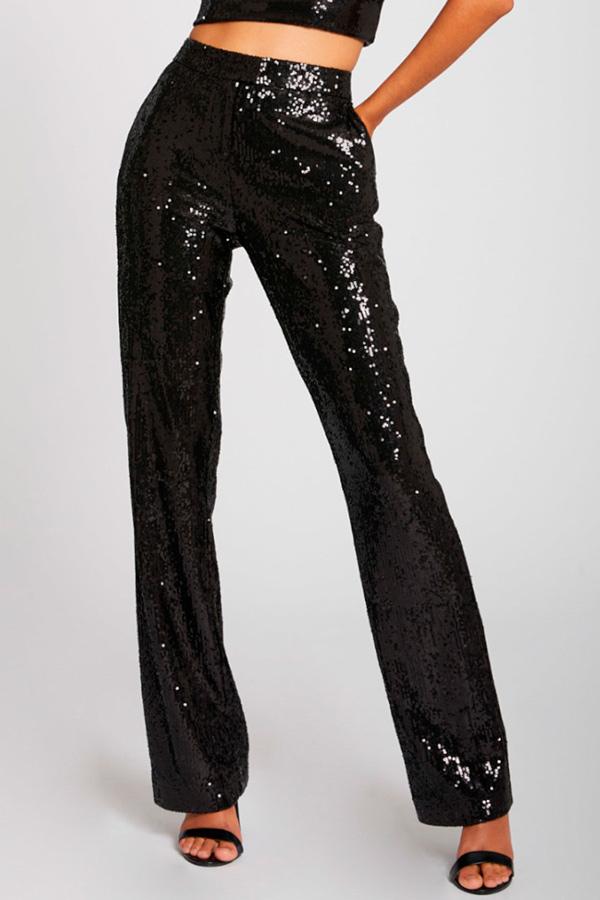 Pantalones tendencia 2020 de lentejuelas