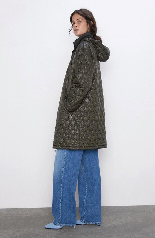 Prendas acolchadas abrigo zara