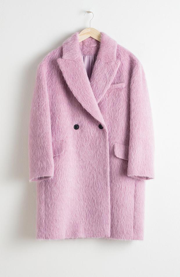 Promociones previas al Black Friday abrigo rosa