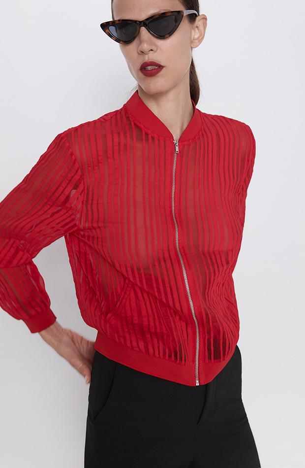 Promociones previas Black Friday chaqueta roja zara