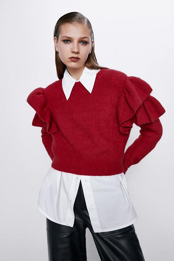 Jersey de mohair de Zara