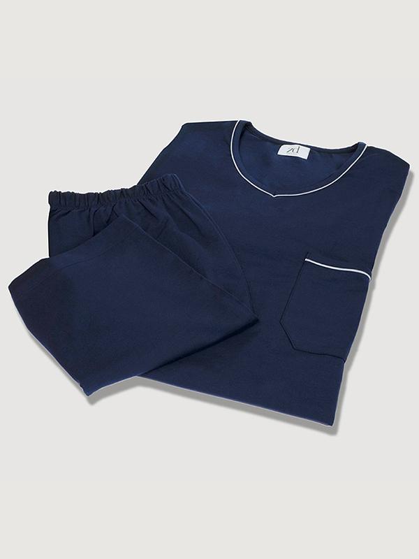 Pijama de ZD Zero Defects azul marino
